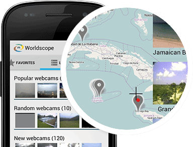 Worldscope—webcams for Android
